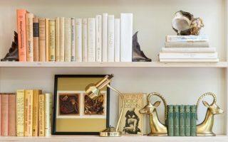 5 einfache Tipps zum Dekorieren von Regalen - Organized Pretty Home