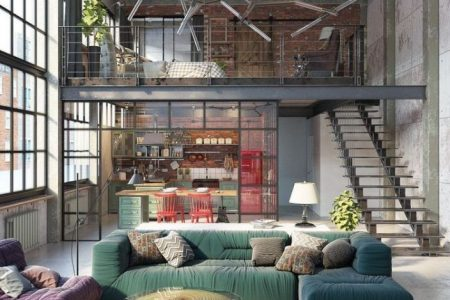 BEST INSPIRATION INDUSTRIAL INTERIOR DESIGN FÜR IHR HAUSDEKOR - Interior Design Ideas & Home Decorating Inspiration - moercar