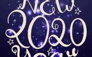 Silvester Bilder Lichter 2020. Machen Sie Neujahrsziele. Grabe in dir und entdecke, was dir in diesem Jahr in deinem Leben ...