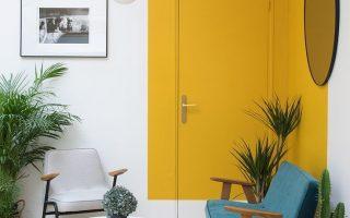 Paint Saint: Ein einzigartiger Farbtrend, der in coolen Innenräumen immer wieder auftaucht