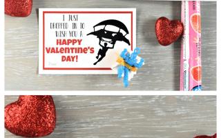 Fortnite druckbare Valentines