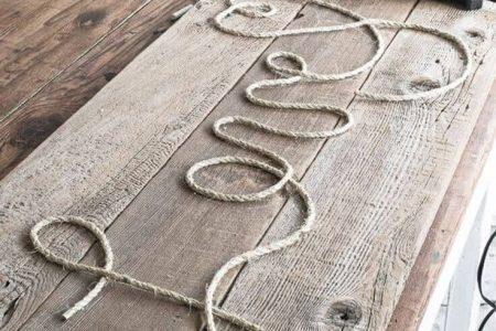 33 projets de corde bricolage créatifs et créatifs que vous allez adorer - Dekoration des Hauses