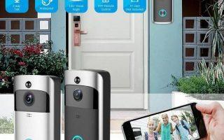 Smart WiFi Wireless Video-Türklingel-Gegensprechanlage für Home Security