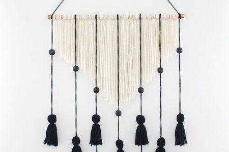 20 Garn Wandbehang Kunsthandwerk | The Crafty Blog Stalker #diywalldecor 20 Garn Wandbehänge Basteln | Einfache Bastelideen für Zuhause in ...