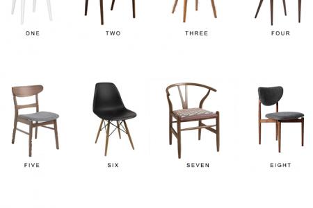 Mid Century Dining Chair Round Up - Nachahmung