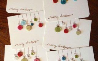 22 DIY-Weihnachtskarten, die mehr Weihnachtsfreude bieten als im Laden gekauft