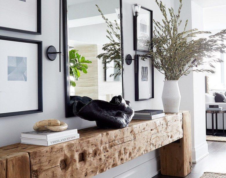 Entrée-Tisch-Designs und Ideen für ein gesundes Zuhause
