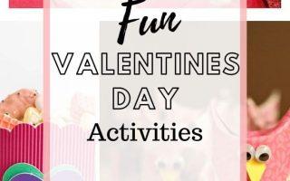 Über 50 Bastel- und Druckvorlagen zum Valentinstag