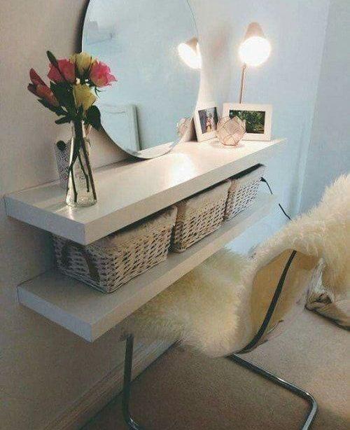 20 Clever Chic DIY Kleine Schlafzimmer Aufbewahrungshacks, die Ihren Verstand blasen werden - Wohn Design