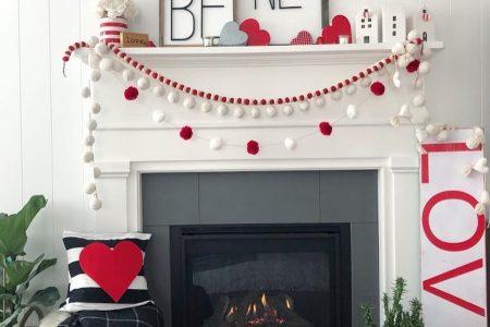 Sei mein Valentinstag Mantel und DIY Projektideen