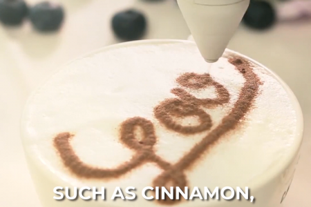 Elektrischer Gewürzstift für Latte & Food Art 😍