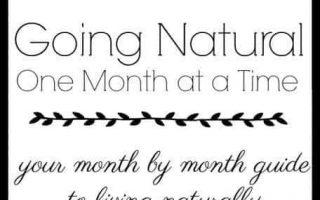 Going Natural - Ein Monat nach dem anderen