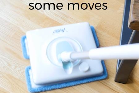 Bessere Reinigung - oszillierender Wischmopp
