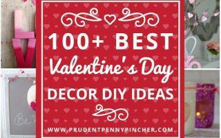 100 besten DIY Valentinstag Dekor Ideen