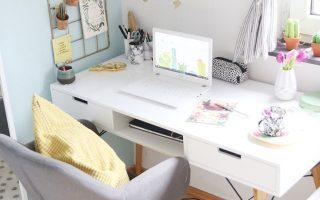25+ kleine Home-Office-Ideen für Männer und Frauen (platzsparendes Layout)