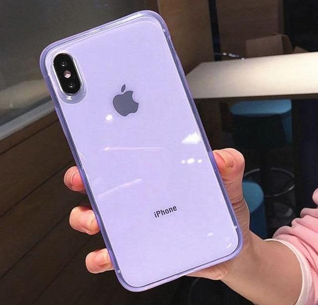 Bunter transparenter stoßfester AnchorTrends-iPhone-Fall  u2122 Dieser superweiche Silikon-bunte transparente Telefonkasten bietet die beste ...