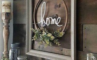 Erstellen Sie diesen Look neu: Modern Farmhouse Framed Embroidery Hoop - thetarnishedjewelblog