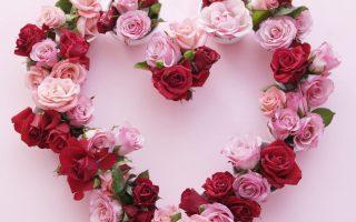 30+ Schöne Rose Valentine Herz Dekor Kranz