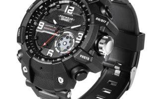 Fox 10 wasserdichte Sport Smartwatch mit HD 1080P Videokamera