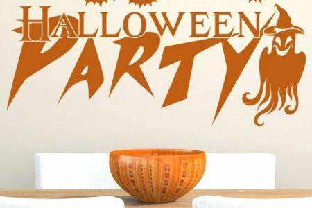 East Urban Home Wandtattoo Halloween Party, Geist | Wayfair.de