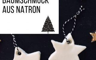 Tolle Weihnachtsdeko mit Natron gehört