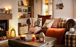 Herbst Wohnkultur: Verwandeln Sie Ihr Zuhause für eine gemütliche Jahreszeit Dekoriertes Leben