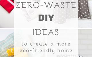 17 Abfallfreie DIY-Ideen für ein umweltfreundliches Zuhause