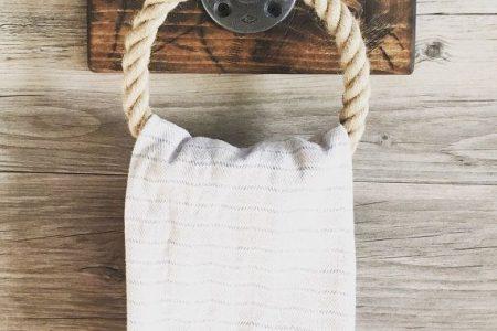 Rustikale Seil Handtuchhalter, Seil Handtuchring, Arbeits Dekor, Küchenorganisator, Bad Handtuchhalter,