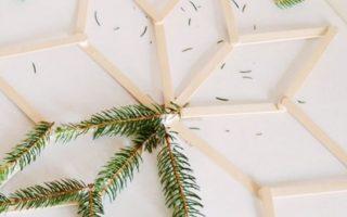 DIY - grüner Winterstern mit Vorlage | Julia in vollen Zügen