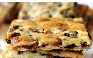 Golden Raisin Biscuit Cookies - Die Montagsschachtel