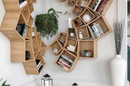 24 Erstaunliche Ideen für die Dekoration Ihres Bücherregals zur Perfektionierung Ihrer Inneneinrichtung