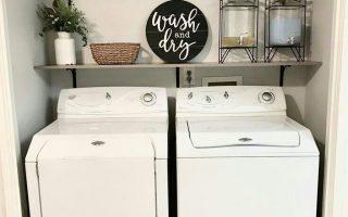 36 coole Bauernhaus-Dekor-Ideen für Waschküche - OMGHOMEDECOR - Nice 36 Cool Far ...