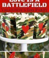 Liebe ist eine Schlachtfeld-Valentinstagsparty - #valentinesdayfood Liebe ist eine Schlachtfeld-Valentinstagsparty - #valentinesdayfood. #Ba ...