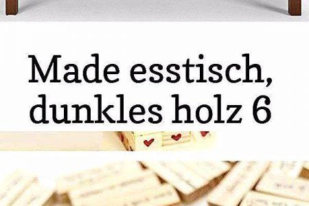 Made esstisch, dunkles holz 6 - MADE Esstisch, Dunkles Holz 14 Valentinstag g ... Made esstisch, dunkles holz 6 - MADE Esstisch, Dunkl ...