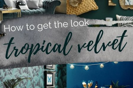 Holen Sie sich den Look: Tropical Velvet Luxe | Wenn es eine Änderung findet, #Alteration #Findet #Luxe #Tro ...