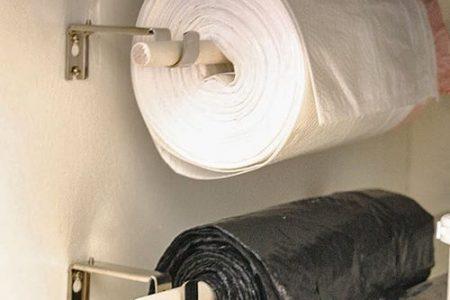 Tolle, preiswerte Küchenideen, einschließlich dieses Mülleimer-Spenders ...