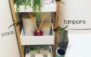 Idee für die Organisation Ihres Badezimmers für Ihre erste Wohnung im College… - Deko Wohnung - Agli