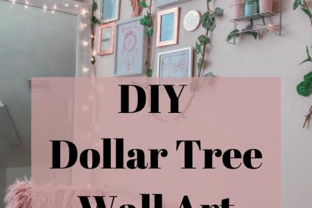 Dollar-Baum Wandkunst (inspirierende Ideen) | Zum Glück immer arm