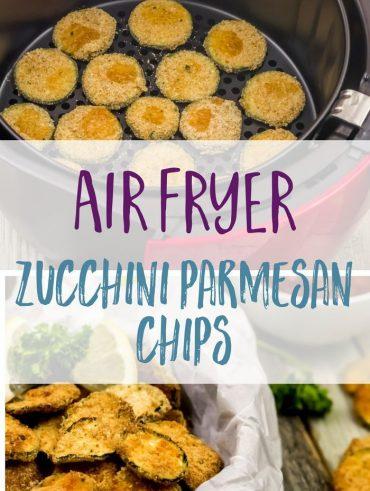Gesundes Zucchini Parmesan Chips Rezept | Mein bestes Air Fryer Rezept