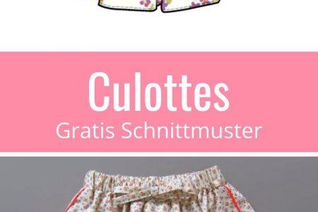 Culottes für alle Größen - Damen und Mädchen - Tutorial | Nähtalente