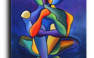 Estampes, Affiches, Toile, Art Figuratif, Kunst des Paares, Art d'amour, Art de Portraiture, Kunst der Größe, Art urbain, Art Contemporain, Art Moderne, Abstrait, Coloré