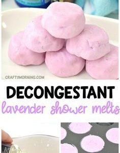 Lavendel abschwellende Dusche schmilzt - schlauer Morgen