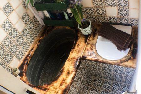 Ein Mad Van / Tiny Home Designer. auf Instagram: Old Galvanized Bathtub Composite ... - Saras Sammlung