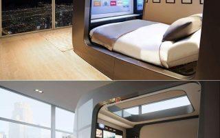 Hi-Interiors HiCan Smart Bed auf der Fuorisalone 2018 (Bilder)