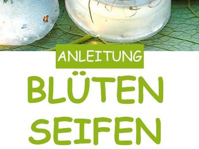 Basteln: Blumenseife selbermachen