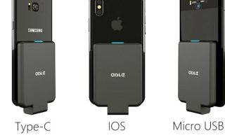 Mini tragbares externes Ladegerät | Mobiles Zubehör Smartphone-Gadgets