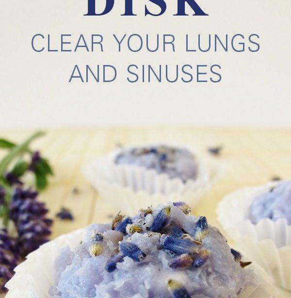 Duschbombe mit ätherischen Ölen: Lassen Sie diese in Ihre tägliche Dusche fallen, um Ihre Lungen und Nebenhöhlen wie nichts anderes zu reinigen