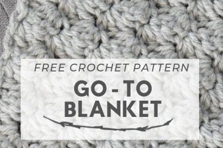 Einfache gehäkelte Decke Go - To Pattern - Stricken ist so einfach wie 1, 2, 3 Das Stricken läuft auf drei Jahren Fertigkeiten hinaus ...