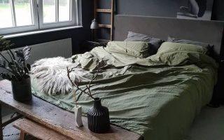 Projekt Inside / 10 Chambres gemütlich en vert /