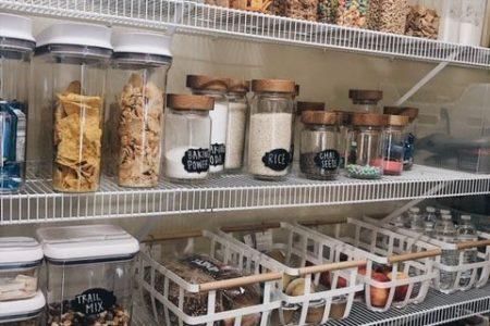Wie man die perfekt organisierte Speisekammer erstellt - sie hat es versucht